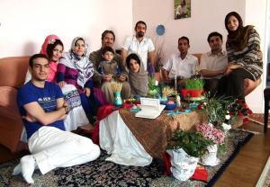 عکس خانواده طبرزدی